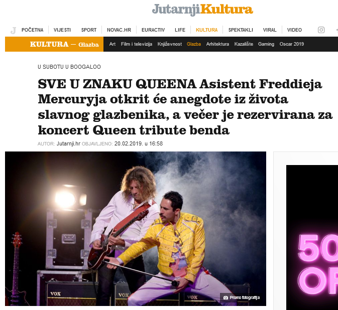 Queen Real Tribute delighted audiences
