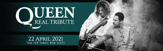 The biggest Queen Tribute band in the world is coming straight to your home!